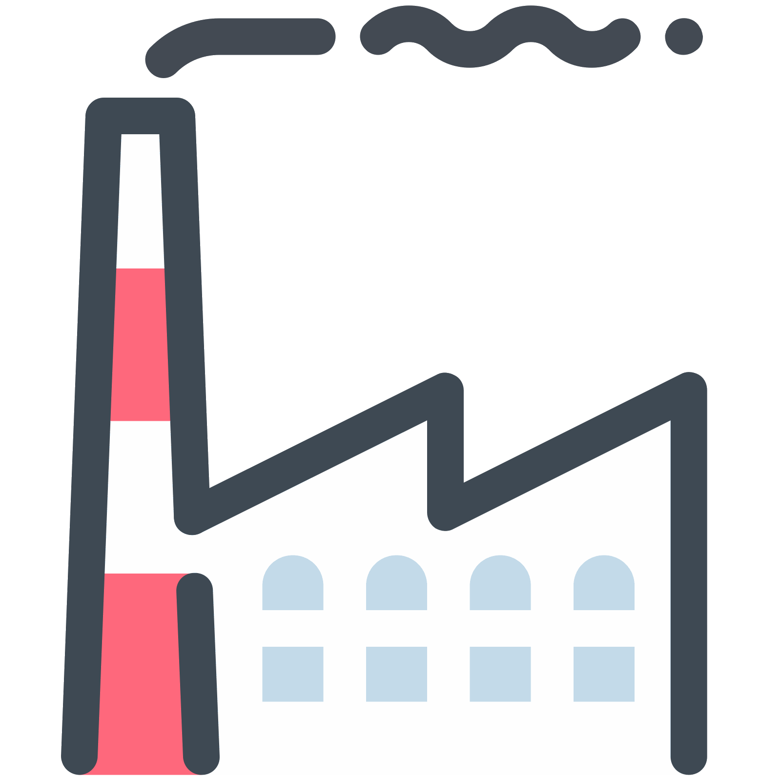 Factory icon free download. Factories clipart industry profile