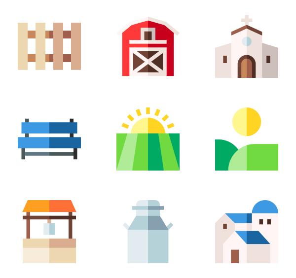 Factory icons free vector. Factories clipart industry profile