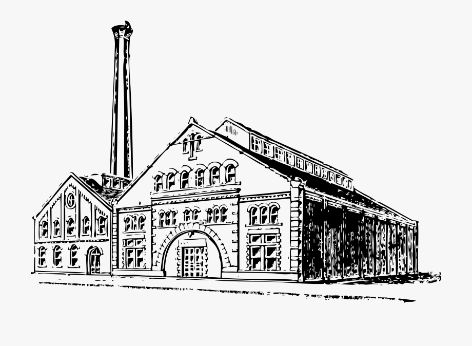 Free . Factories clipart old factory