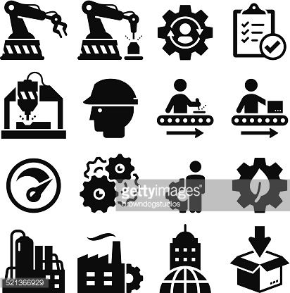 Manufacturing icon vector google. Factory clipart factory operator