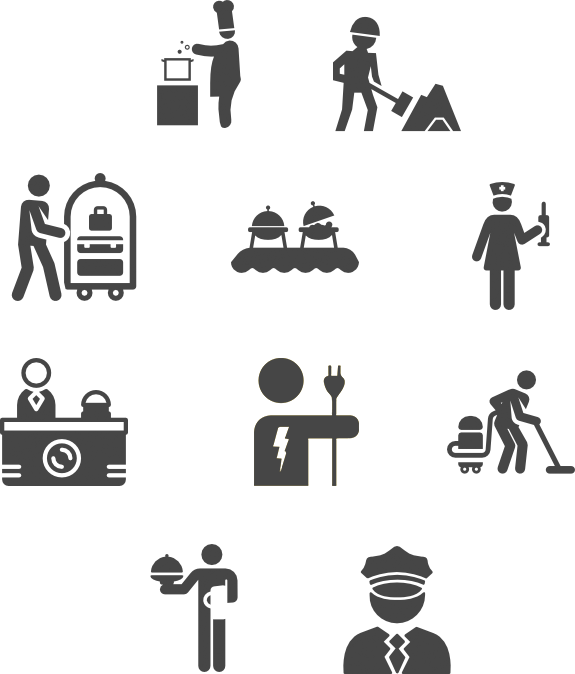 Factory clipart primary sector. Search and cordon services