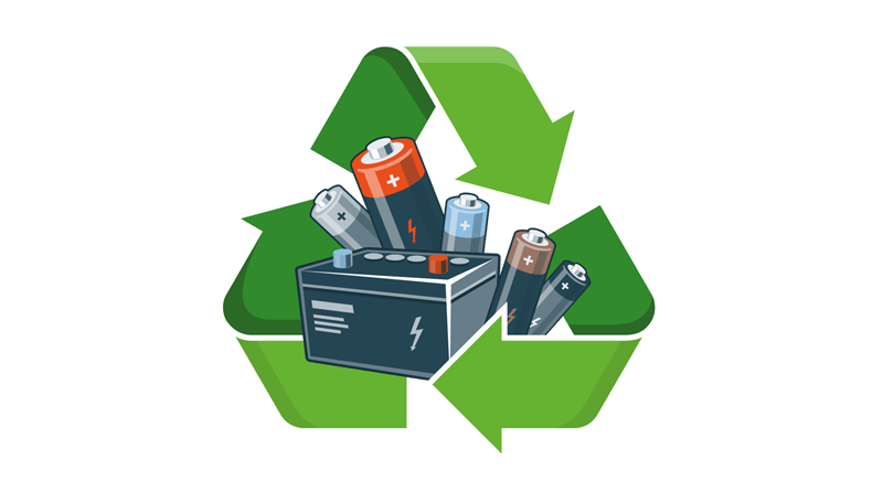 Hazardous waste facility launched. Factories clipart recycling factory