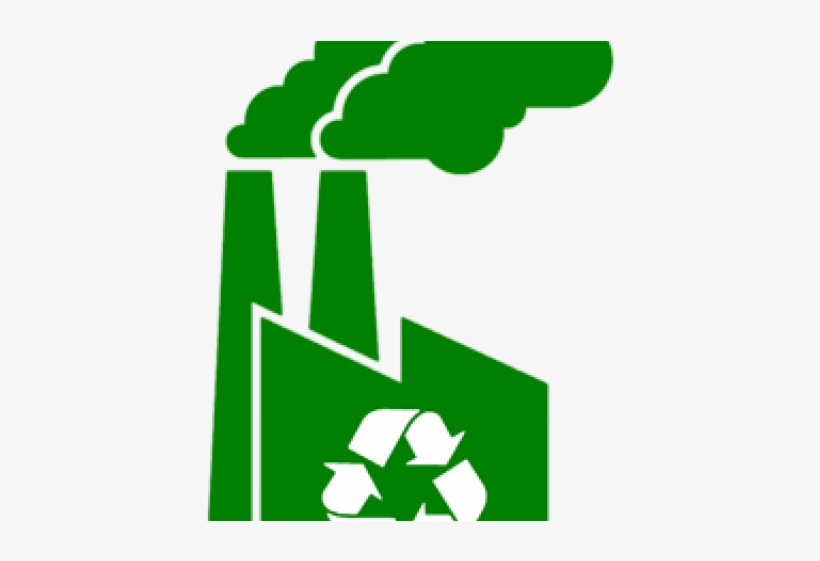 Factories clipart recycling factory. Icon free