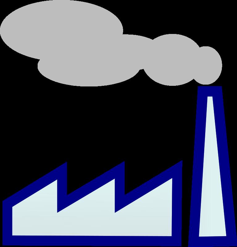factories clipart smoking