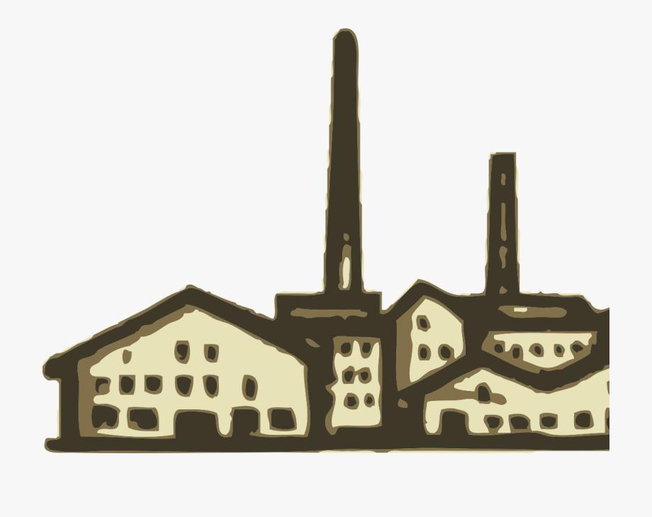 Factory clipart industrial age. Revolution clip art