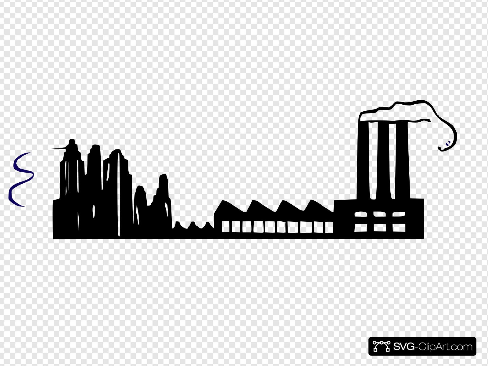 factory clipart svg