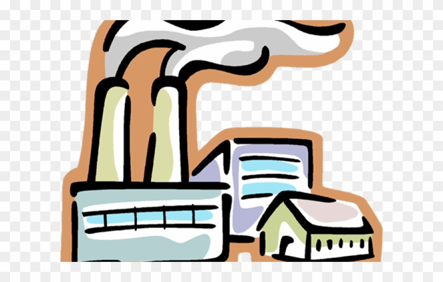 Smoke stack clip . Factory clipart transparent background
