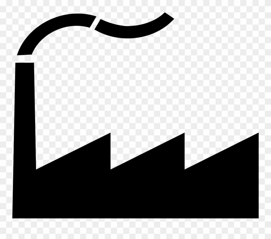 Graphics for factory clip. Factories clipart vector