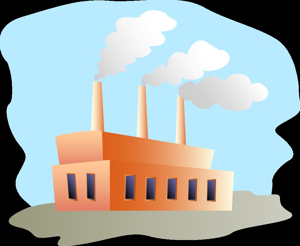 Factory clipart. Public domain clip art