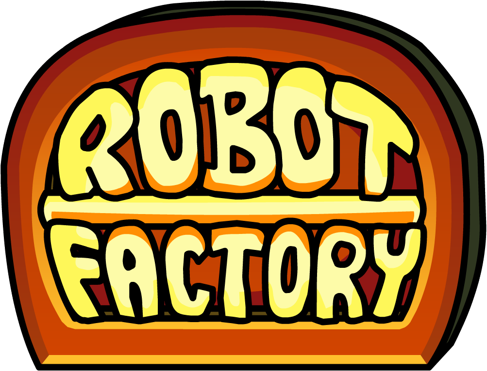 Factory clipart clean factory. Robot club penguin wiki