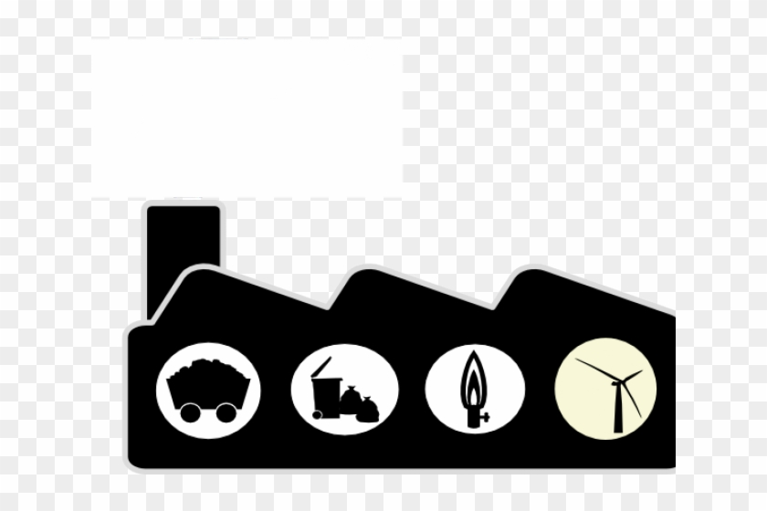 Factory clipart coal factory. Distribution center free on