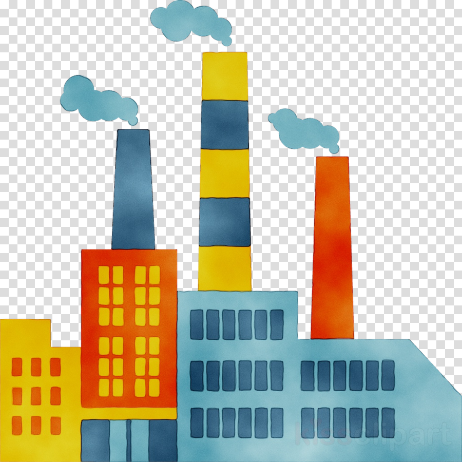 Icon building . Factory clipart different industry