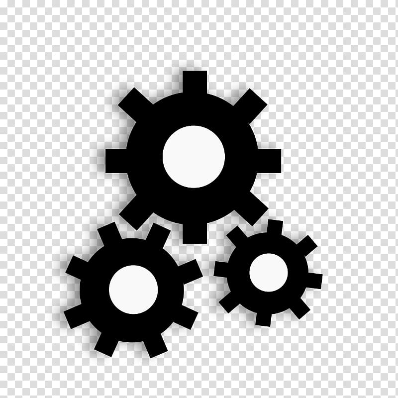 Mechanical wheel illustration revolution. Factory clipart industrial age