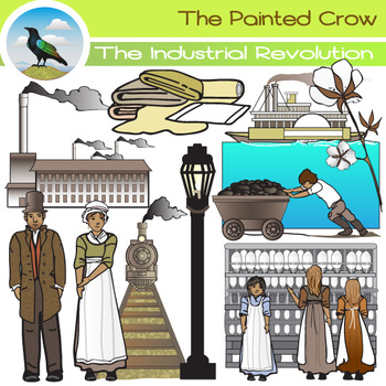 Factory clipart industrial age. The revolution clip art