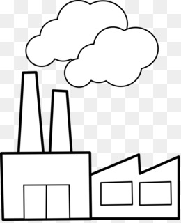 Factory clipart industrialisation. Cartoon png download free