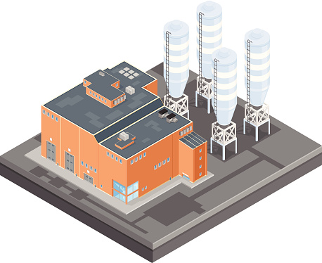 Free building cliparts download. Factory clipart manufacturing unit