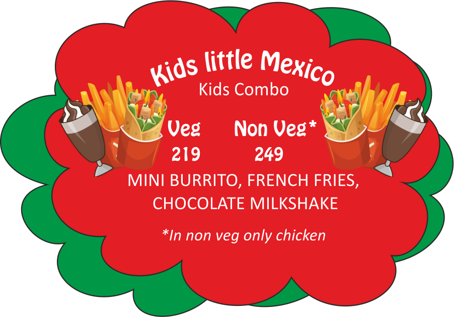 Burrito mexican food express. Factory clipart meat factory