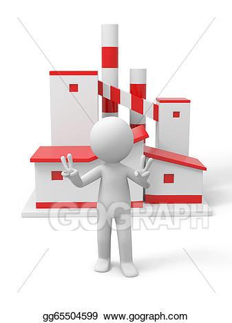 Of stock illustration gg. Factory clipart model