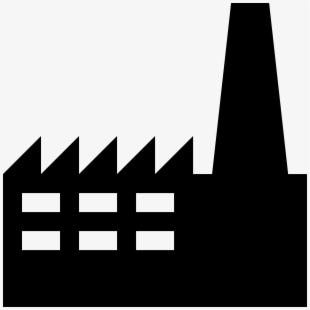 Factory clipart simple. Building free