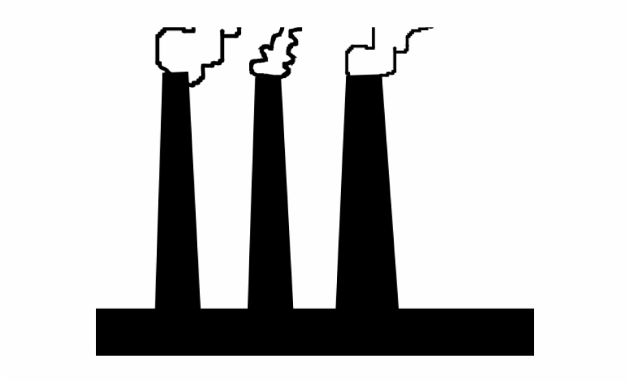 Smoke clip art free. Factory clipart simple