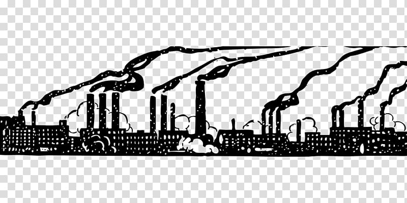 Industry clipart outline. Factory industrial transparent background