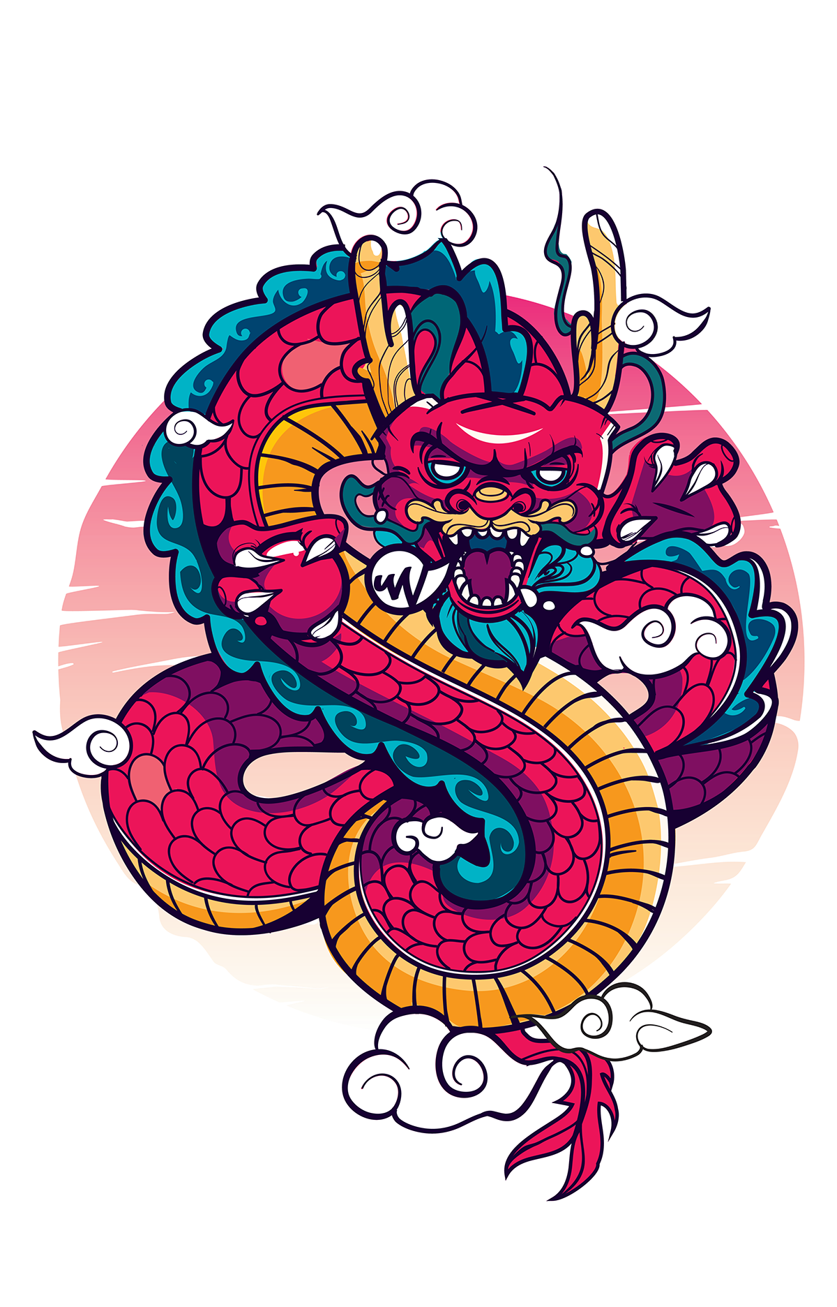 Factory clipart soot. Insurgent dragon on behance
