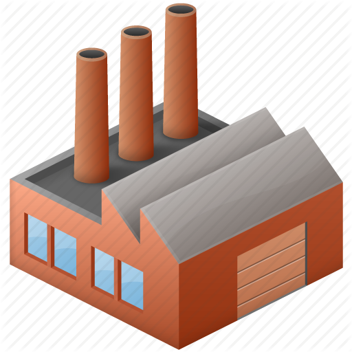 Factory clipart wood factory. Building cartoon product industry