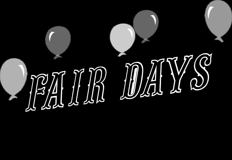 Fair clipart border. Balloons free stock photo