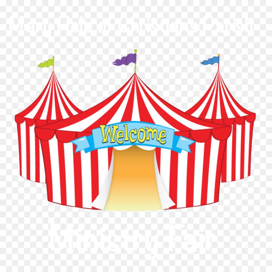 Tent circus transparent clip. Fair clipart cartoon