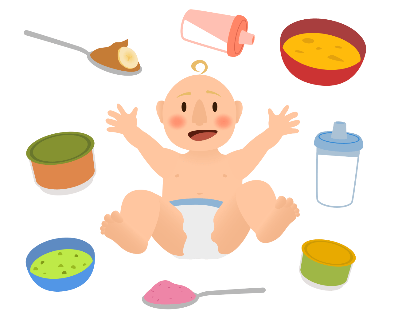 Infant clipart lot baby. Cafeteria child nutrition free