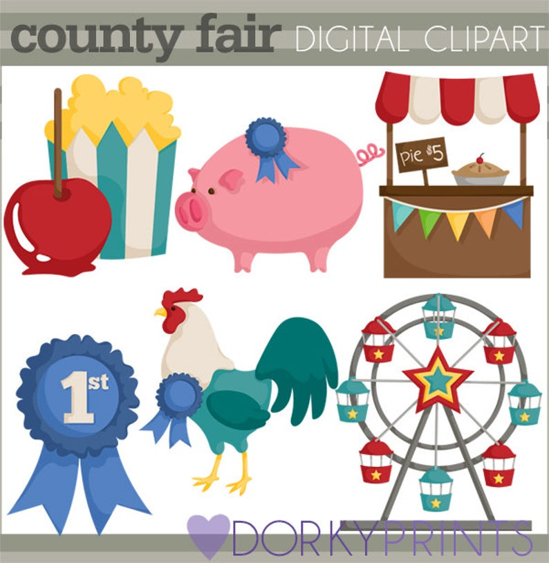 County personal and limited. Fair clipart cute