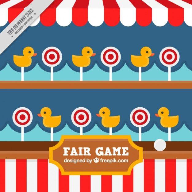 Fair clipart fair background. Nice game free vector