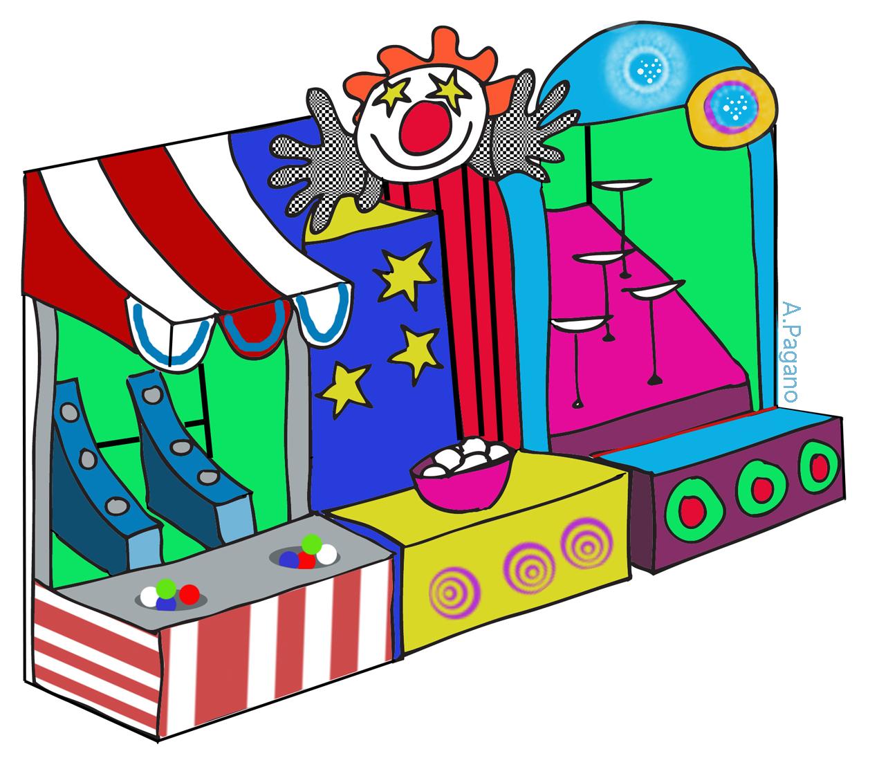 Clip art library . Fair clipart fall festival games