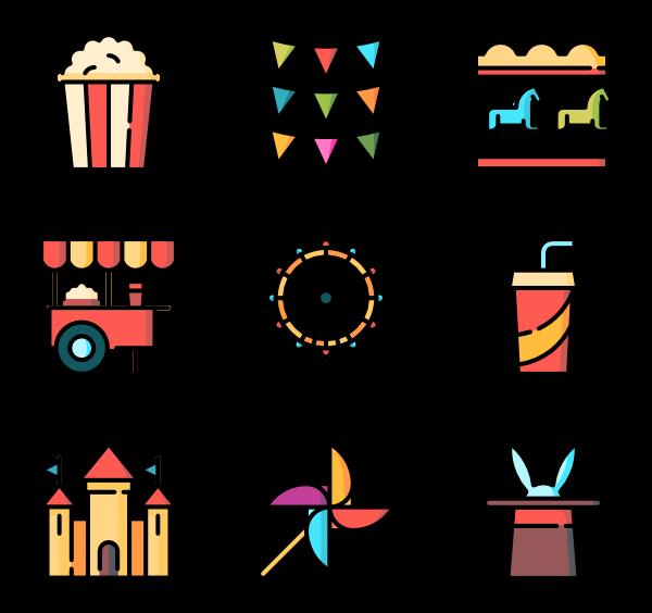 icon packs vector. Fair clipart funfair