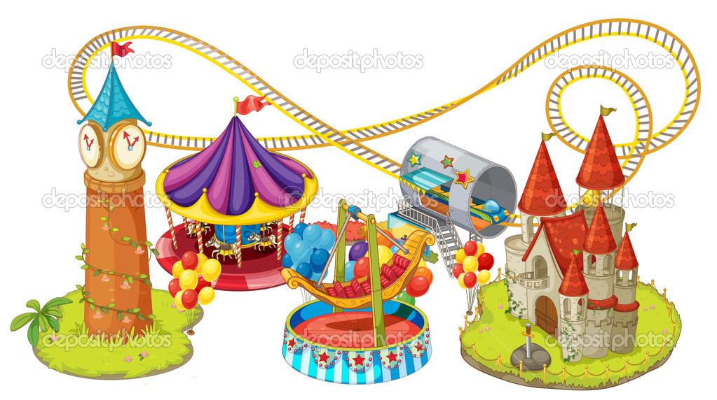 Ride of the fun. Fair clipart funfair