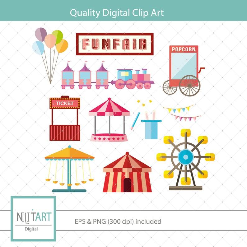 Fair clipart funfair. Fun clip art state