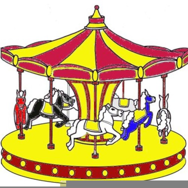 Free merry images at. Fair clipart mary go round