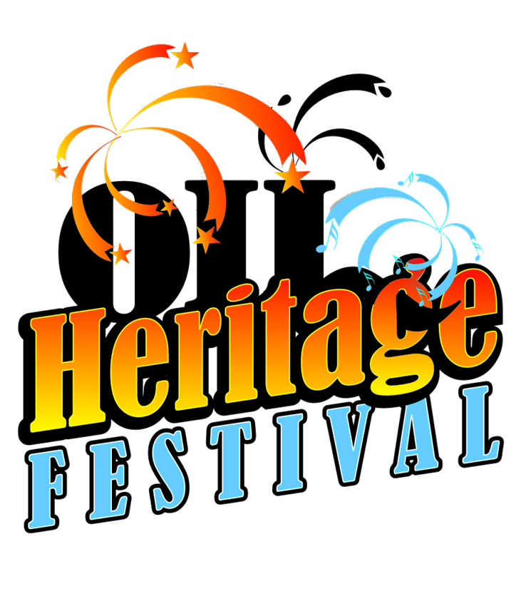 Fair clipart parish festival. Oil heritage venango area
