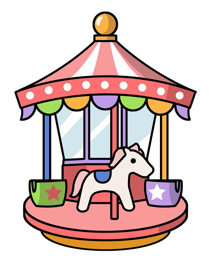 Fair clipart theme park. Free amusement rides cliparts