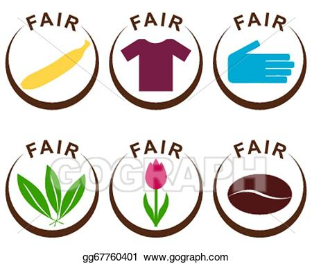 Fair clipart trade fair. Vector stock products illustration