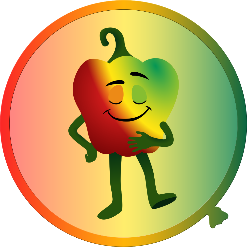 Peppers clipart pepper spanish. Cartoon fruit and vegetable
