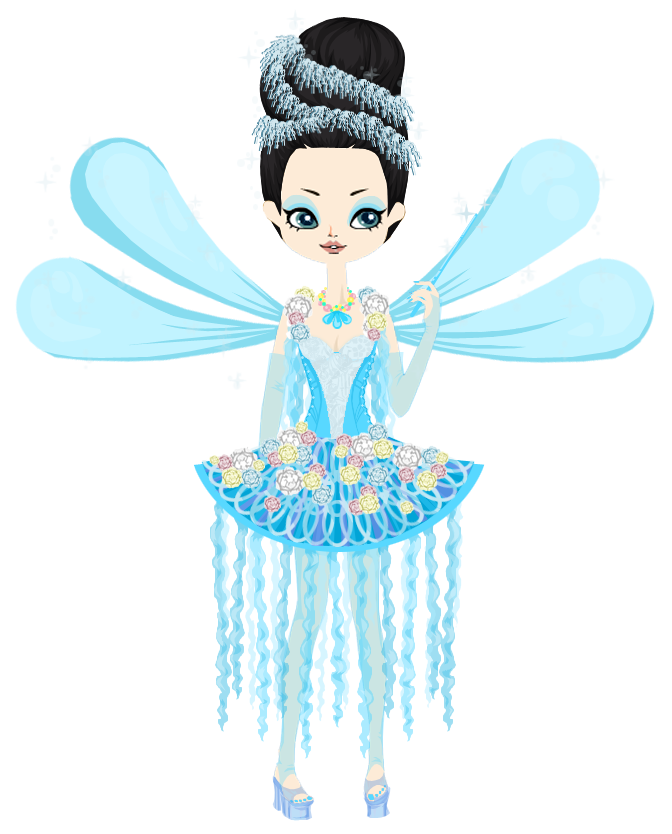 From once upon a. Fairies clipart blue fairy