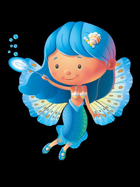 Fairies clipart blue fairy. Colour bubble loves water
