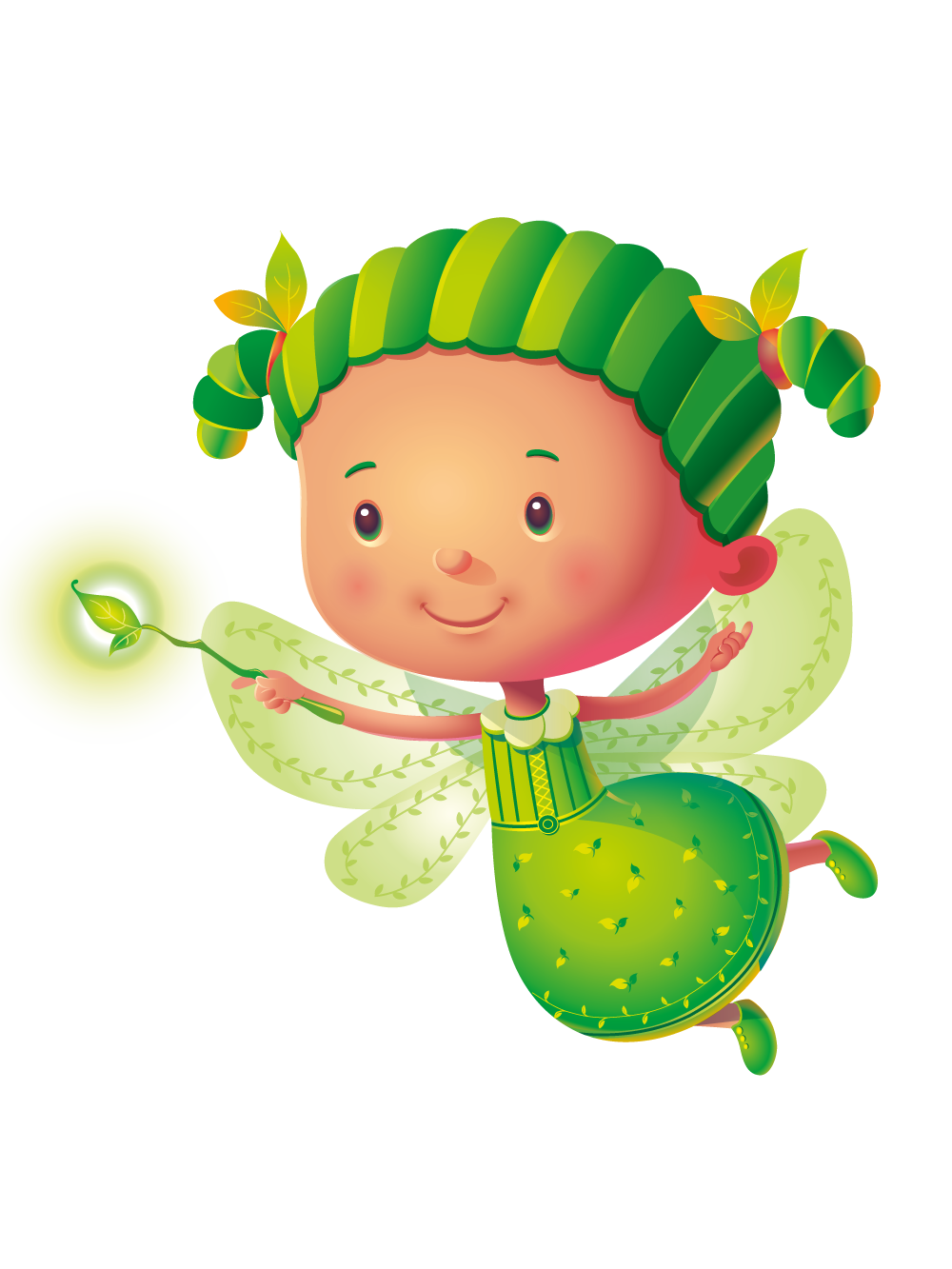 Groovygreen png groovy green. Fairy clipart colourful