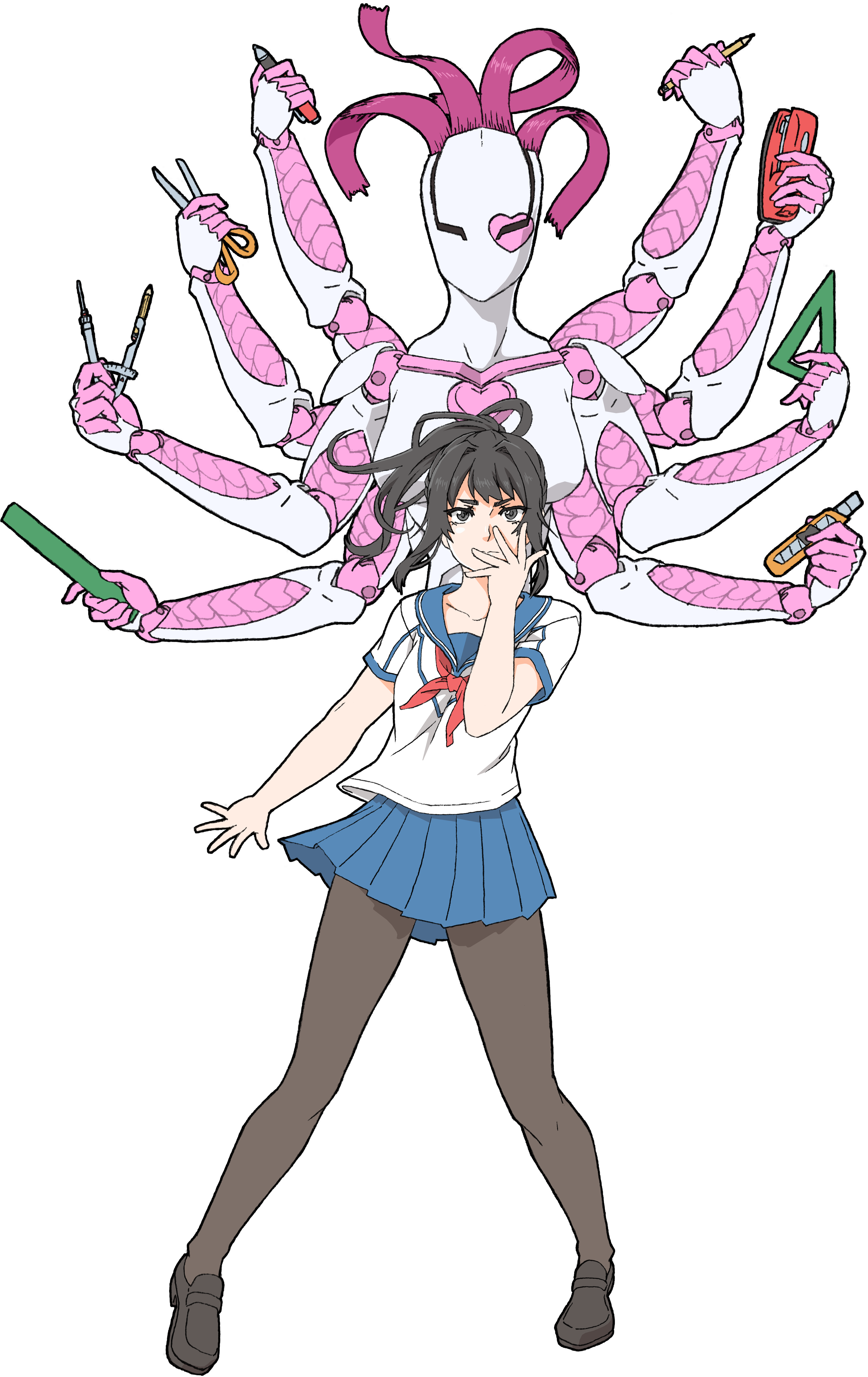 May preview yandere simulator. Fairies clipart easter
