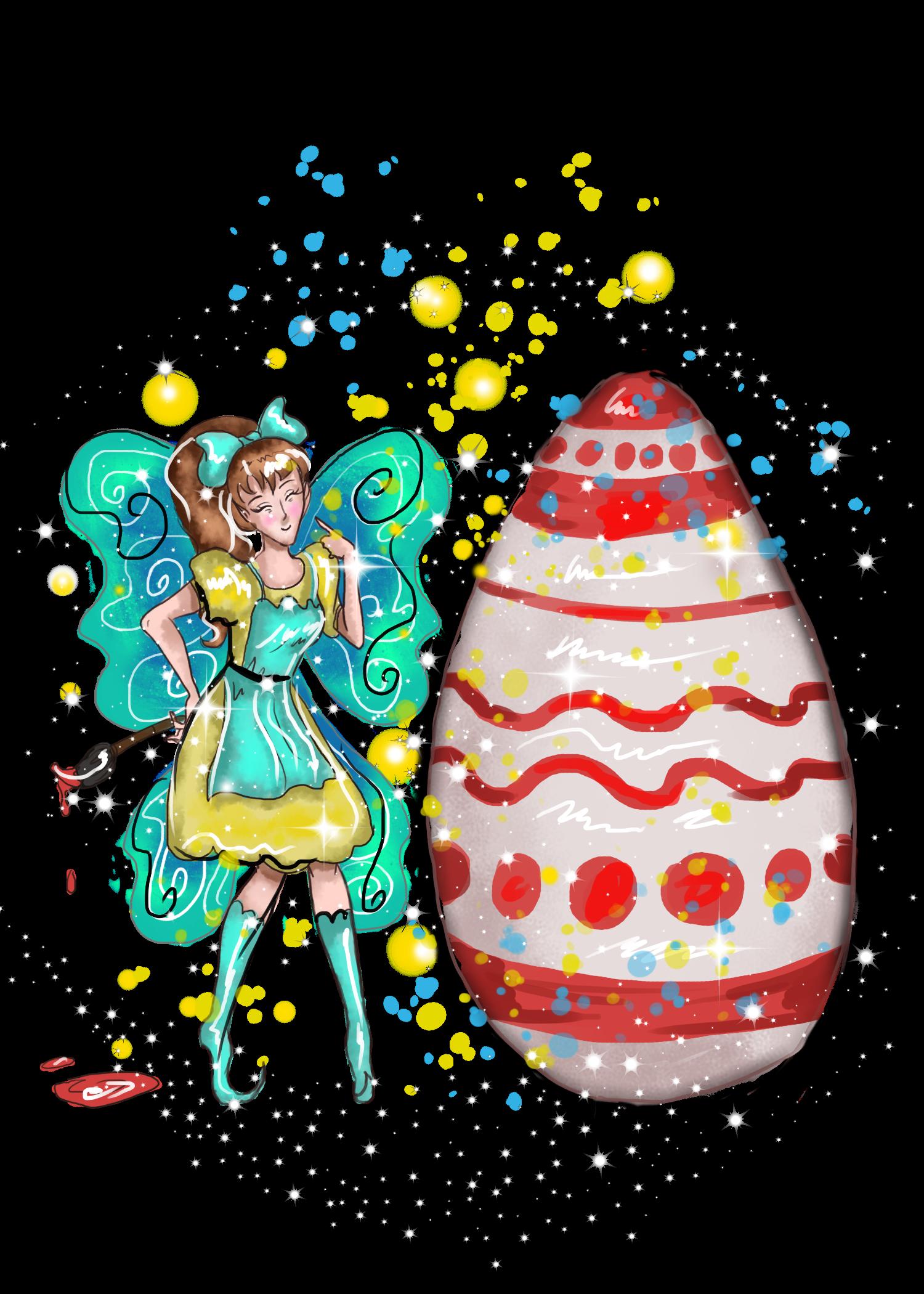Eloiny the fairy www. Fairies clipart easter