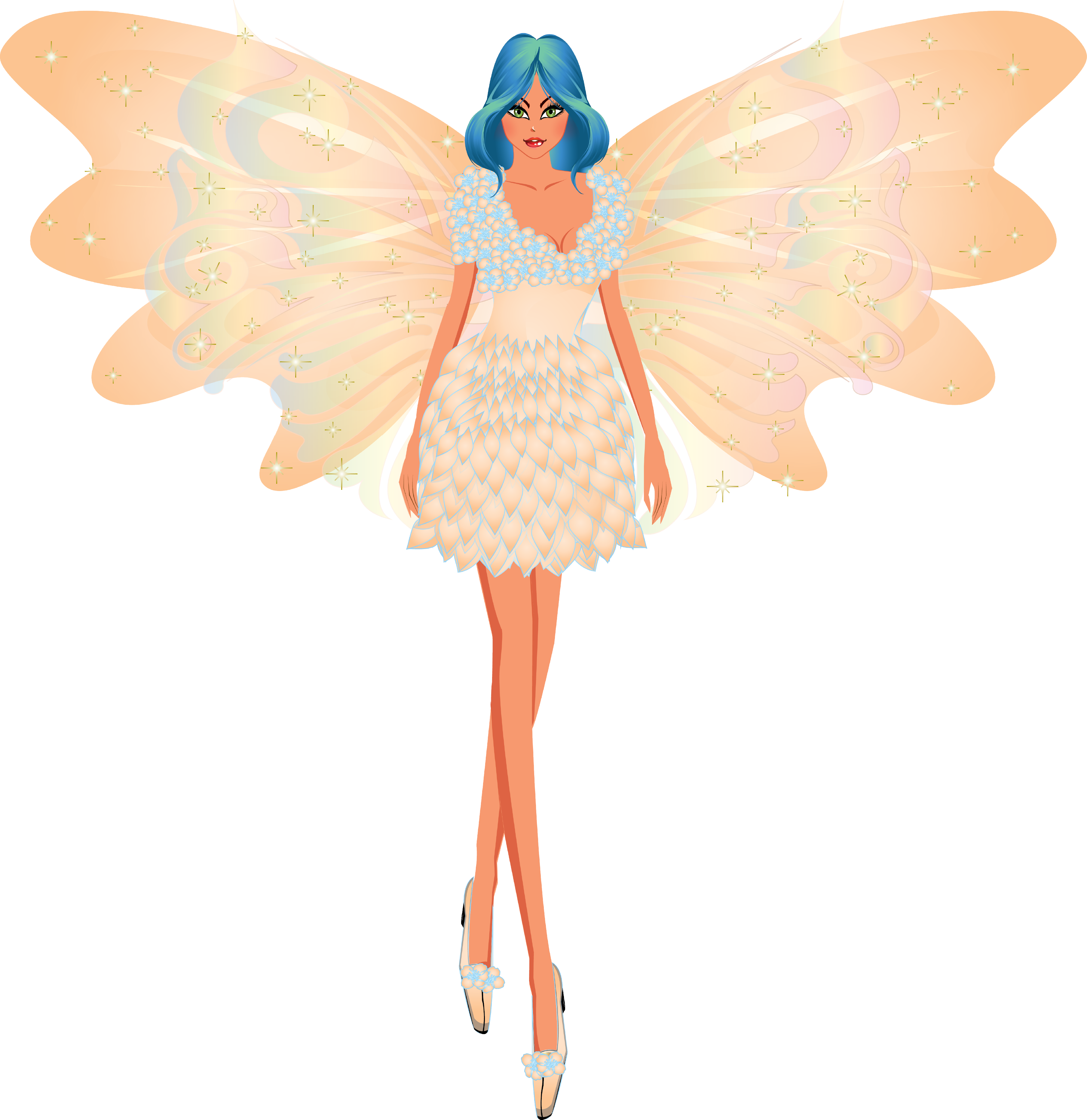 Fairy clipart butterfly. And digital paper fairies