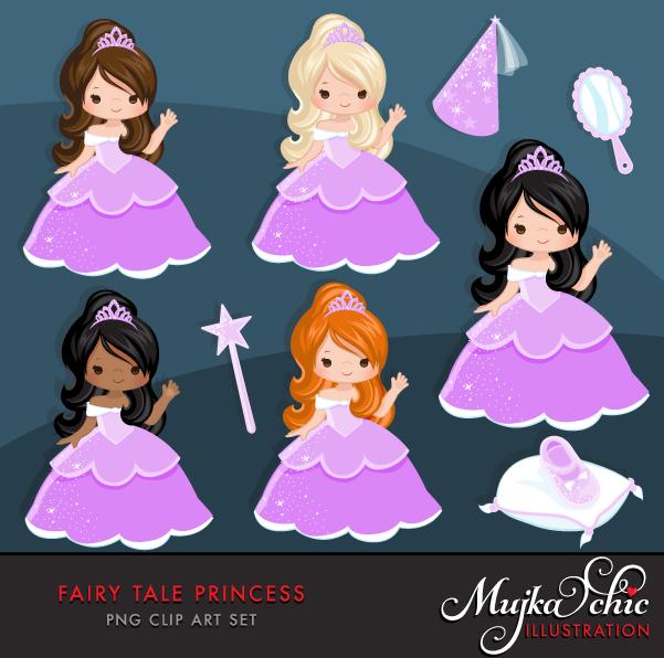 Fairy clipart hat. Tale princess purple clipartku
