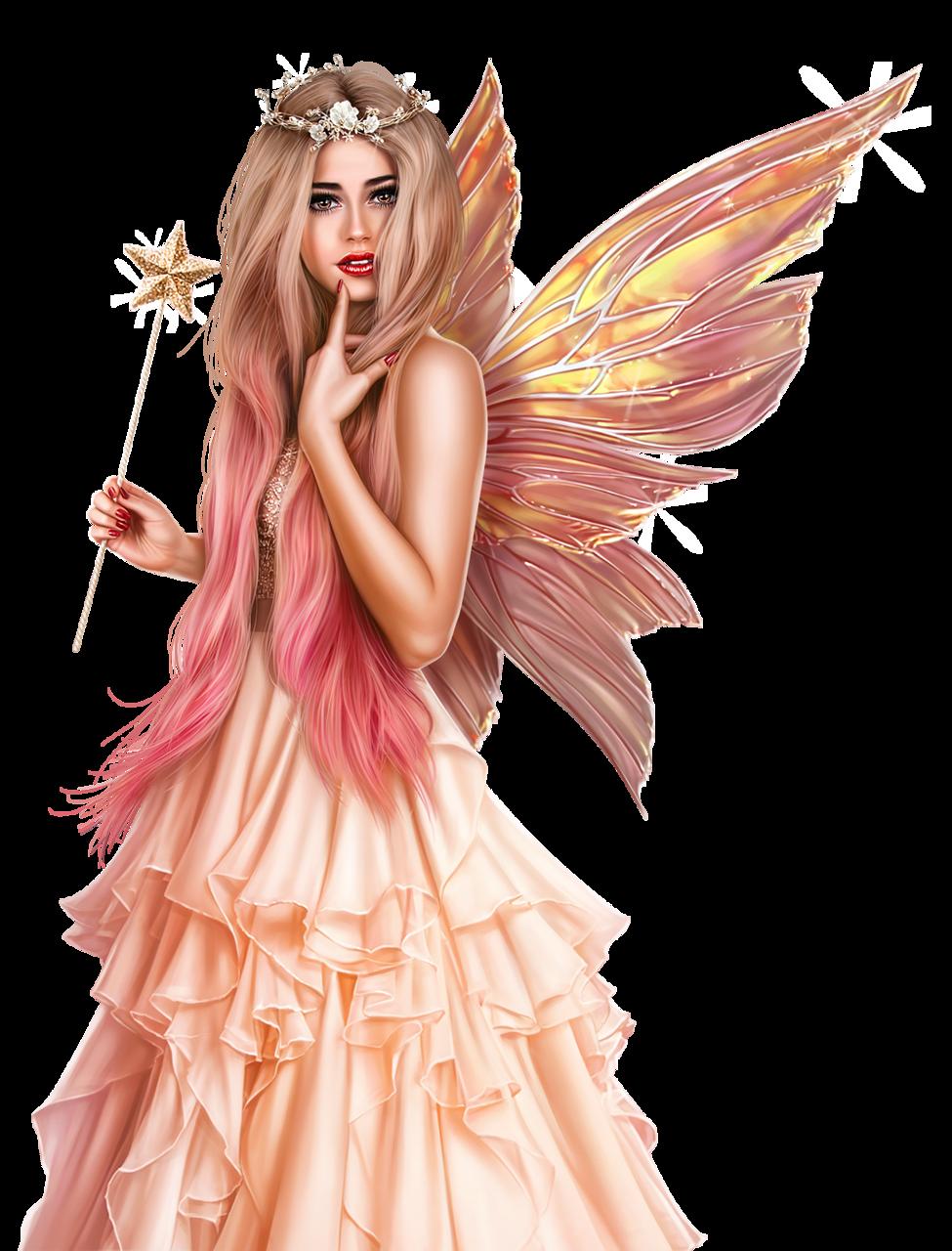 Fairy png femme d. Fairies clipart mermaid