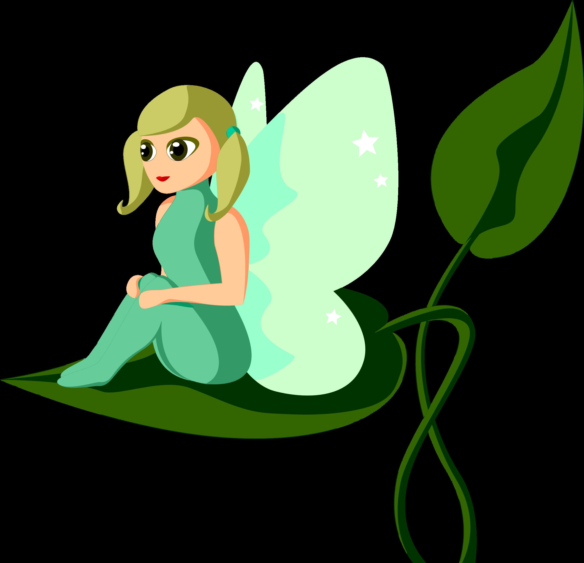 Female fairy sitting on. Fairies clipart mermaid